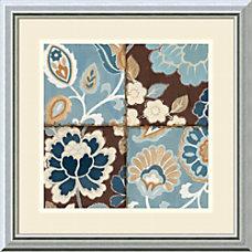 Amanti Art Patchwork Motif Blue I