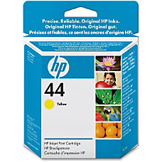 HP 44 Yellow Ink Cartridge 51644Y