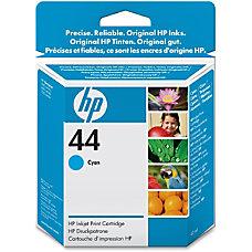 HP 44 Cyan Ink Cartridge 51644C