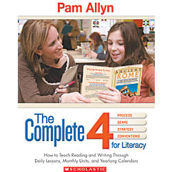 Scholastic The Complete 4 For Literacy