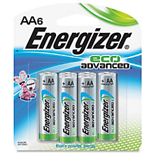 Energizer EcoAdvanced AA Batteries AA Alkaline