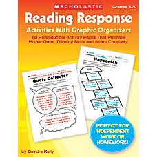 Scholastic Reading Response Activities With Graphic