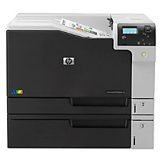 HP LaserJet M750DN Laser Printer Color