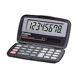 Canon LS555H Wallet Calculator Hard Shell