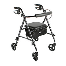 Guardian Ultralight Rollator 6 Wheels Titanium