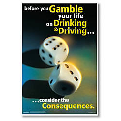 ComplyRight Substance Abuse Poster Drinking Driving