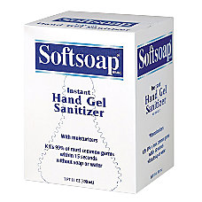Softsoap Hand Gel Sanitizer Refill 800