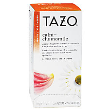 Tazo Calm Blend Caffeine Free Herbal