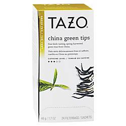 Tazo China Green Tips Tea Pack