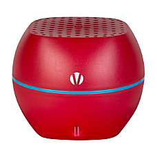 Vivitar Bluetooth Wireless Portable Speaker Red