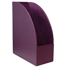 Realspace Executive Leatherette MagazineFile Holder 12