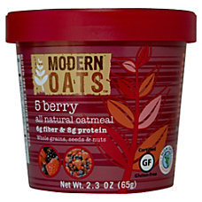 Modern Oats Oatmeal Cups 5 Berry