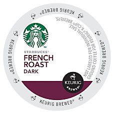 Starbucks French Roast Coffee K Cups