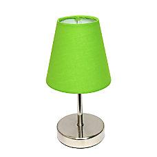 Simple Designs Mini Basic Table Lamp