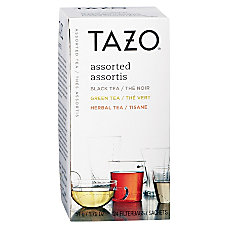 Tazo Flavored Teas Pack Of 24