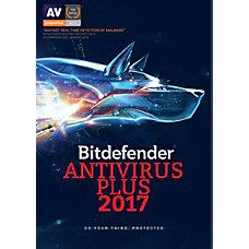 BitDefender Antivirus Plus 2017 For 3