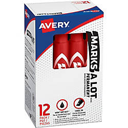 Avery Regular Desk Style Permanent Markers