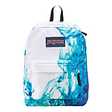 JanSport SuperBreak Backpack Multi Blue Drip