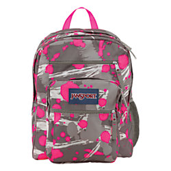 JanSport Big Student Backpack SuperBreak Fluorescent Pink Super ...