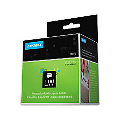 Dymo Removable Multipurpose LabelWriter Labels 2