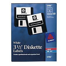 Avery Permanent InkjetLaser 3 12 Diskette