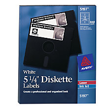 Avery Permanent Laser 5 14 Diskette
