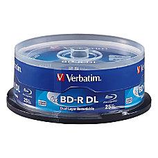 Verbatim BD R DL 50GB 6X