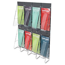 Deflect O 8 Pocket Wall Rack