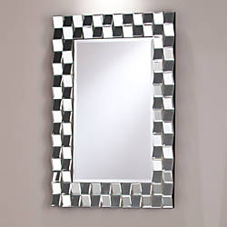 Southern Enterprises Leslie Decorative Rectangular Mirror