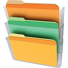 Deflect o Three Pack Stackable Letter