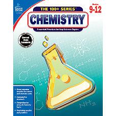 Carson Dellosa Chemistry Workbook Grades 9