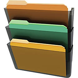 deflecto Stackable DocuPocket Letter Wall Pockets