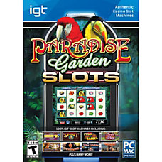 IGT Slots Paradise Garden Download Version