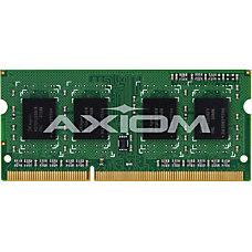 Axiom 4GB DDR3 1600 SODIMM for