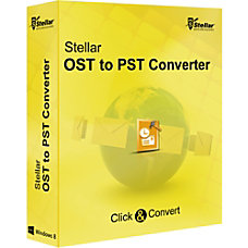 Stellar OST to PST Converter Download