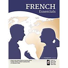 Transparent Language French Essentials Download Version