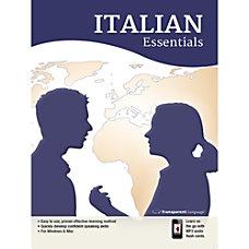 Transparent Language Italian Essentials Download Version