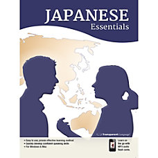 Transparent Language Japanese Essentials Download Version