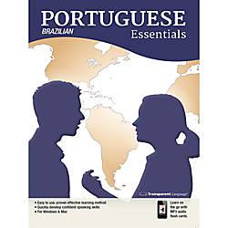 Transparent Language Portuguese Brazilian Essentials Download