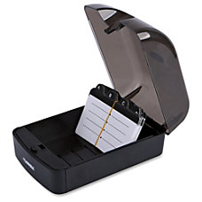 Lorell Desktop Business Card File 350
