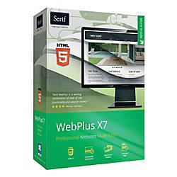 Serif WebPlus X7 Download Version