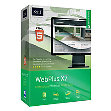 Serif WebPlus X7 Download Version
