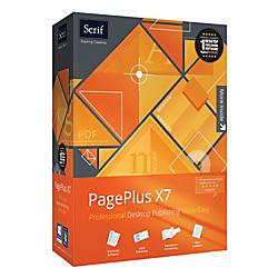 Serif PagePlus X7 Download Version