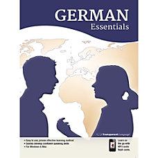 Transparent Language German Essentials for Mac