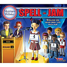 Merriam Websters SPELL JAM Mac Download