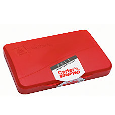 Carters Felt Stamp Pads Red Size