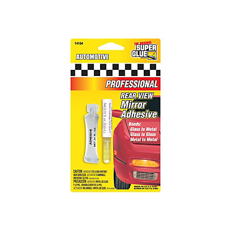 super glue automotive rear view mirror adhesive by office depot officemax. Black Bedroom Furniture Sets. Home Design Ideas