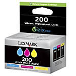 Lexmark 200 14L0268 Color Ink Tanks