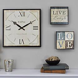 FirsTime Love Gallery Clock 13 H
