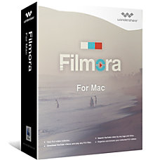 Wondershare Filmora Video Editor for Mac